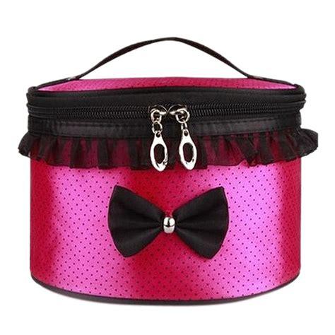 Tas Make Up Travel Wanita tas kosmetik travel pita lucu wanita pink jakartanotebook