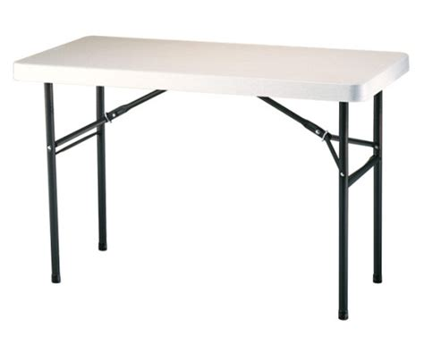 lifetime 4 foot table new 2959 lifetime 4 plastic lightweight folding table