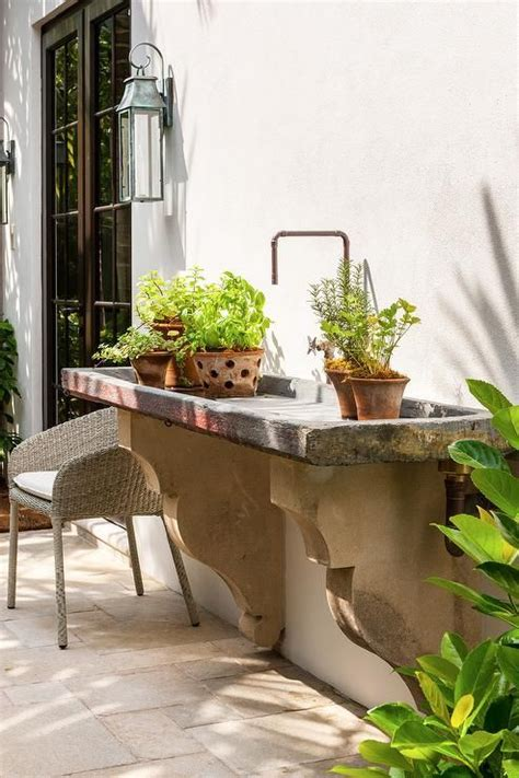 outdoor sink ideas 25 best ideas about garden sink on outdoor