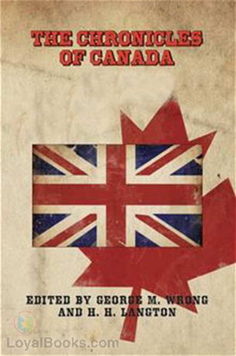 my picture book canada chronicles of canada of canadian history