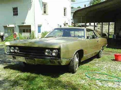 Used Cars For Sale In Delmont Pa Buy Used 1969 Ford Galaxie In Delmont Pennsylvania