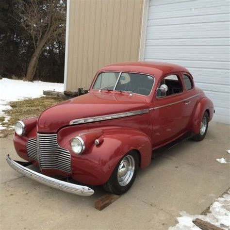 1940 chevrolet coupe for sale 1940 chevrolet coupe 283 v8 3 speed all steel