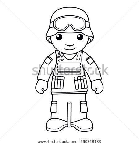 Soldier Helmet Outline by Army Soldier Stock Photos Images Pictures