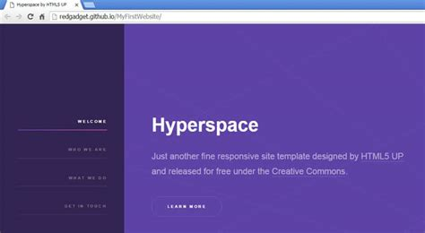 github page template gallery templates design ideas