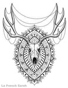 Tatoueur Lyon – La French Sarah &187 Mandala Animal sketch template