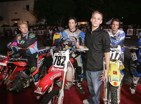 motocross movie aaron carter photos photos premiere of quot supercross the