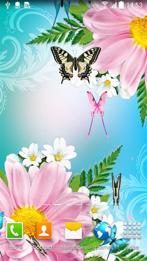 Live Butterfly Wallpaper For Windows 7 by Butterflies Live Wallpaper Android Apps On Play