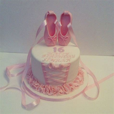 Balet Shoes Birthday Cakes 17 best images about ballerina torte on ballet