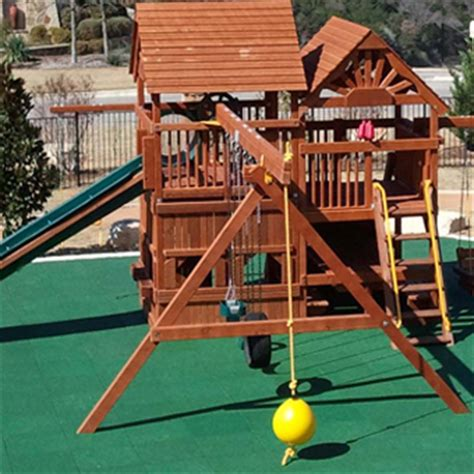 outdoor rubber floor playground surface protection