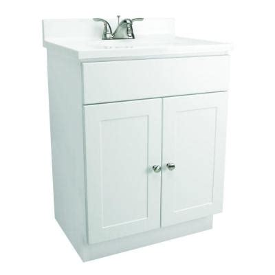 design house white vanity design house 31 in vanity in white with cultured marble
