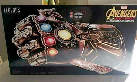 infinity gauntlet series showcases the marvel legends series infinity