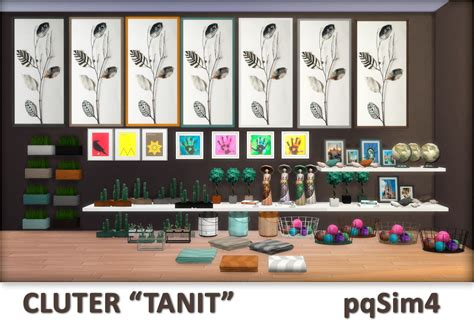 clutter 4 custom content sims clutter quot tanit quot sims 4 custom content