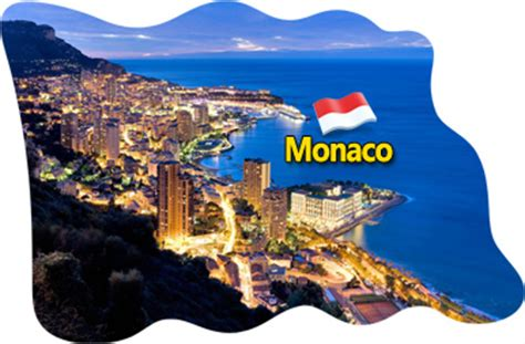 Magnet Kulkas Monaco Monako High Quality monaco fridge magnet flag epoxy travel souvenir ebay
