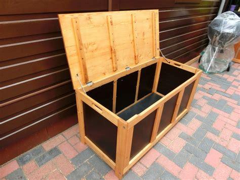 Holz Wasserfest Machen by Auflagenbox Selber Bauen Auflagenbox L 228 Rchenholz Und