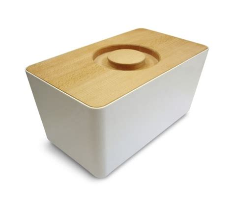 Kitchen Cabinet Storage Shelves - bread box modern bread boxes by connox