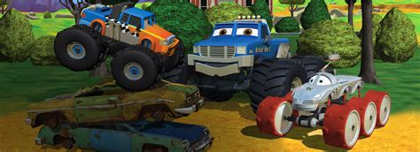 show me monster trucks meteor and the mighty monster trucks