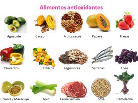 alimentos antioxidantes vitaminas y antioxidantes en la medida justa punto fape