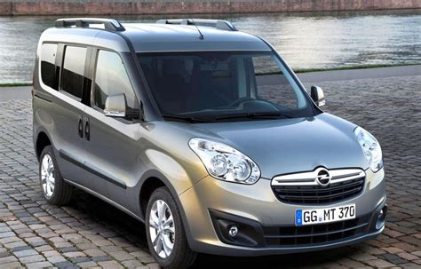opel minivan opel combo minivan mpv 2012 reviews technical data