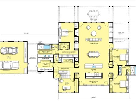 open floor plan farmhouse plans modern farmhouse open floor plans