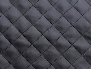 mjtrends black quilted faux leather fabric