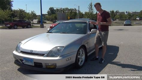 Honda Prelude Sh by Review 2001 Honda Prelude Type Sh