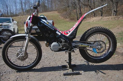 trials and motocross riding impression sherco st 2 9 trials bike dirt rider