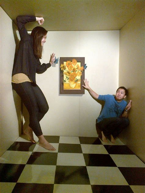 The Ames Room by Ames Room 4 By Sheikthegeek On Deviantart