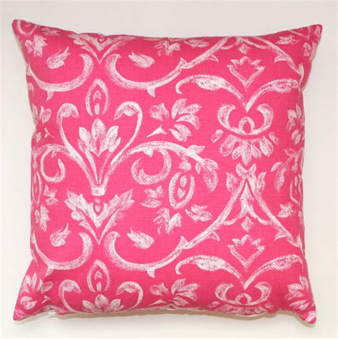 Pink Pillows by Pink Tuscany Pillow Cover By Modernality 2 Modern