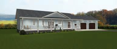 Ranch Style House Curb Appeal - house plans with angled garage by edesignsplans ca 1