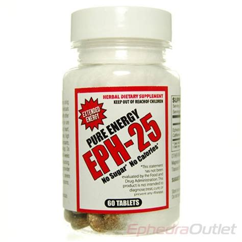 ephedrine ephedra pure ephedrine ephedrine hcl eph 25 ephedra and caffeine only pure energy