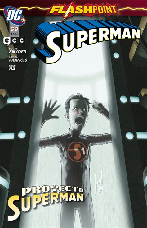 Superman núm. 59: Flashpoint - Proyecto Superman - ECC Cómics