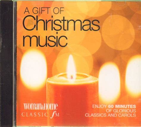 various classical cd album a gift of christmas music