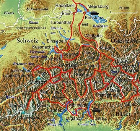 Motorradtouren Veranstalter by Motorradreise Schweiz Gef 252 Hrte Motorradtouren