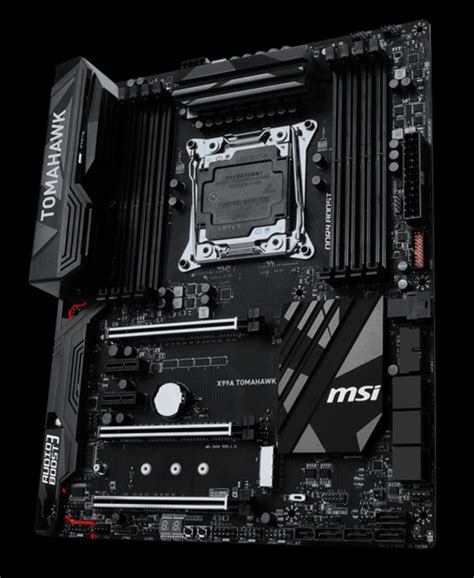 Mainboard Intel Msi X99a Tomahawk oc3d news msi has launched their new x99a tomahawk motherboard msi has launched their
