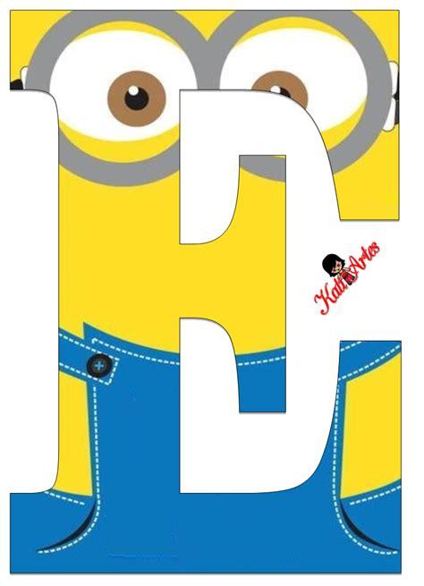 printable minion alphabet letters free printable minions alphabet 020 png 793 215 1 096 pixels
