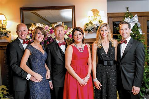 community house hinsdale holiday ball begins diamond jubilee year for hinsdale community house the doings