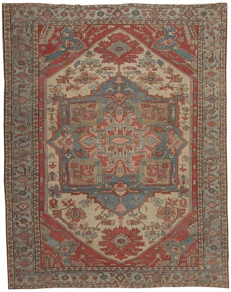antique heriz serapi rug 44537 nazmiyal collection