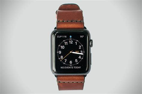 apple watch strap leather apple watch strap by bexar hiconsumption