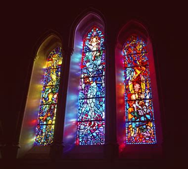 color glass what causes color in stained and colored glass