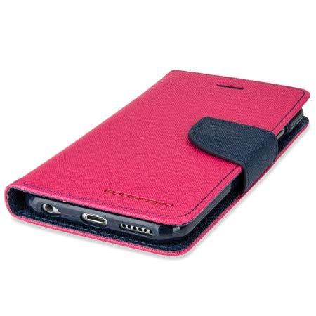 Goospery Iphone 6 Fancy Diary Wallet mercury goospery fancy diary iphone 6s 6 wallet pink navy