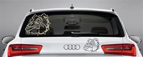 Heckscheibenaufkleber Selbst by Heckscheibenaufkleber Quot Hund Quot Hundeaufkleber F 252 Rs Auto