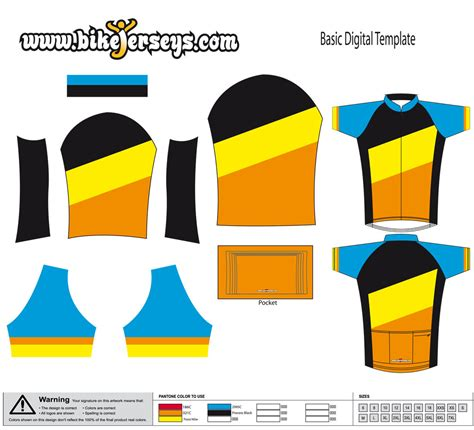 custom cycling jersey template custom design template panels sle