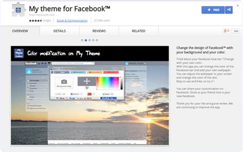 facebook themes download google chrome how to change facebook theme color of timeline 2016
