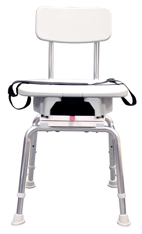 Eagle Swivel Shower Chair With Replaceable Cut Out 75233 Swivel Shower Chairs