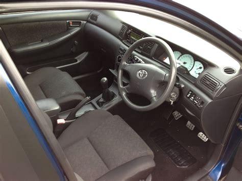 2006 Toyota Corolla Interior 2006 Toyota Corolla Ascent Hatch Manual Blue