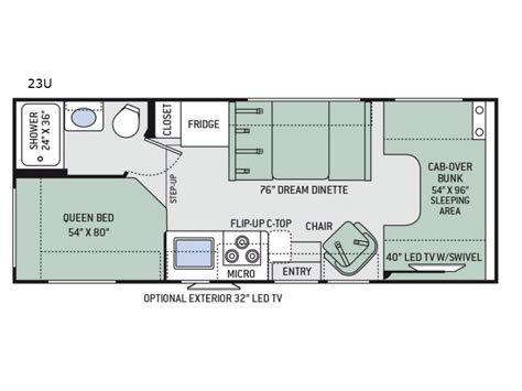 four winds rv floor plans four winds motor home class c rv sales 20 floorplans