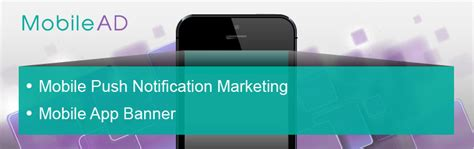 banner start app layout mobilead mobile marketing push notification and app