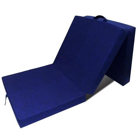 matratze 60 x 190 der schaumstoff matratze klappmatratze g 228 stebett blau 190