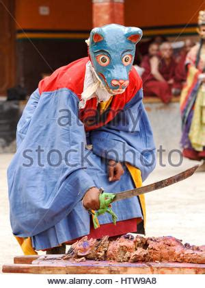 by ddoren on junio 17 2012 in religin y familia a masked buddhist monk performs a ritual dance at the