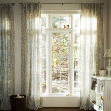 Blue Paisley Drapes Blue And Taupe Paisley Drapes Eclectic Curtains